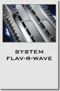 Grille Broil King system Flav-R-Wave